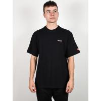 Element PRIMO ICON FLINT BLACK pánské tričko s krátkým rukávem - XS