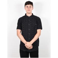 Other ALL DAY black pánská košile krátký rukáv - L