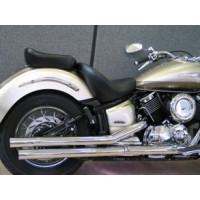 YAMAHA XVS1100 Drag Star / Classic otevřené výfukové koncovky / tlumiče Highway Hawk DOUBLE WALL - Highway Hawk HWH 652-071