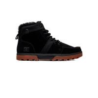 Dc WOODLAND BLACK/GUM pánské boty na zimu - 40,5EUR
