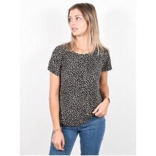 RVCA SUSPENSION 3 black dámské tričko s krátkým rukávem - S