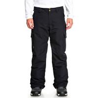 Quiksilver PORTER TRUE BLACK pánské kalhoty na snb - S