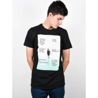 Ezekiel Grand BLK pánské tričko s krátkým rukávem - M