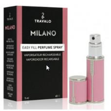 Travalo Milano plnitelný flakon 5ml, růžový