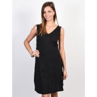 Roxy CLOUDLESS DAY ANTHRACITE společenské šaty krátké - L