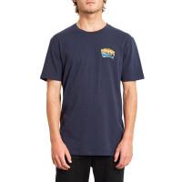 Volcom Pearys Ltw NAVY pánské tričko s krátkým rukávem - XL