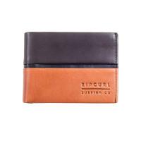 Rip Curl STRINGER RFID ALL DA brown luxusní pánská peněženka