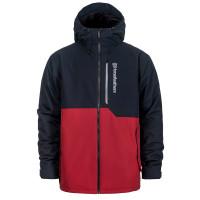 Horsefeathers WRIGHT RED zimní bunda pánská - XS