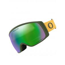 Oakley Flight Tracker XM Dark Brush Mustard wPrizm Jade pánské brýle na snowboard