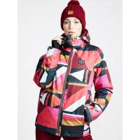 Billabong SULA SUNSET RED dámské zimní bundy na snowboard - S