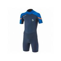 Prolimit Grommet Shorty 2/2 black/blue/orange neopren - 164/14/XL
