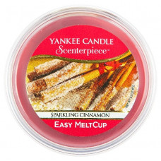 Yankee Candle Scenterpiece Easy MeltCup 61g Sparkling Cinnamon