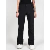 Roxy CREEK TRUE BLACK zateplené kalhoty dámské - L