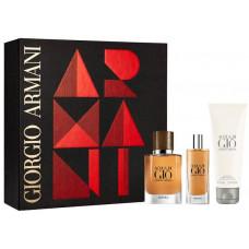 Giorgio Armani Acqua di Gio Absolu M parfémovaná voda 75ml + parfémovaná voda 15ml + SG 75ml