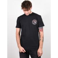 Quiksilver CLOSE CALL black pánské tričko s krátkým rukávem - L