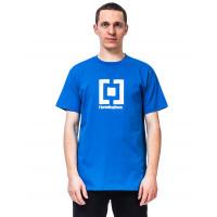 Horsefeathers BASE IMPERIAL BLUE pánské tričko s krátkým rukávem - S