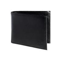 Fox Bifold Leather black luxusní pánská peněženka