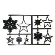 Patchwork, Sněhové vločky a hvězdy (Snowflakes and Stars)