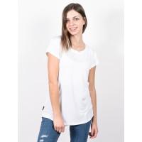 Alife and Kickin MIMMYAK white dámské tričko s krátkým rukávem - XL