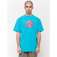 Santa Cruz Scales Dot AQUA pánské tričko s krátkým rukávem - L