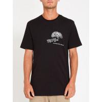 Volcom Cosmogramma black pánské tričko s krátkým rukávem - XL