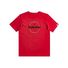 Quiksilver HARD WIRED AMERICAN RED dětské tričko s krátkým rukávem - XL/16