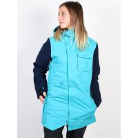 ARMADA HELENA INSULATED Peacock blue zimní bunda dámská - S