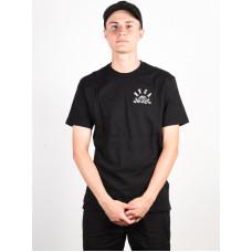 RVCA ROSE STATE black pánské tričko s krátkým rukávem - L