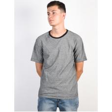 RVCA THEODORE black pánské tričko s krátkým rukávem - M