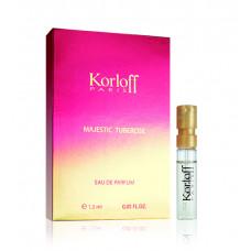Korloff Majestic Tuberose parfémovaná voda Pro ženy 1,5ml vzorek