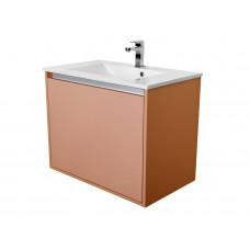 CEDERIKA - Amsterdam umyvadlová skříňka 1x šuplík barva metallic měděný korpus korpus metallic měděný šíře 75 (CA.U1B.133.075)