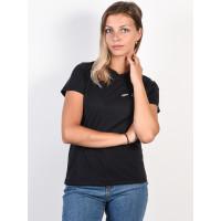 RVCA SMITH STREET FADED BLACK dámské tričko s krátkým rukávem - L