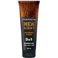 Dermacol Men Agent Extreme Clean 3in1 Shower Gel 250ml