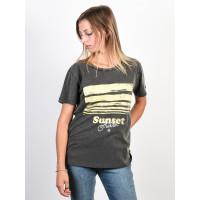 Billabong BAD WATER OFF BLACK dámské tričko s krátkým rukávem - XS