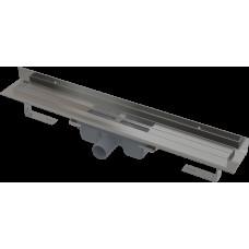 Alcaplast APZ16-1150 Wall podlahový žlab v.95mm kout min. 800mm pro plný rošt a s pevným límcem ke stěně (APZ16-1150)