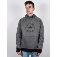 Billabong DOWNHILL HEATHER GREY pánská mikina - XL