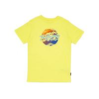 Billabong spray quest yellow dětské tričko s krátkým rukávem - 12