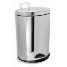 NOVASERVIS - Odpadkový koš kulatý 3 l chrom 6162,0
