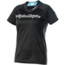 Troy Lee Designs SKYLINE SPEEDA black triko na kolo - L