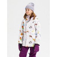 Burton ELODIE FIZZLE dětská zimní bunda - XL