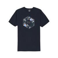 Billabong X-CESS NAVY pánské tričko s krátkým rukávem - L
