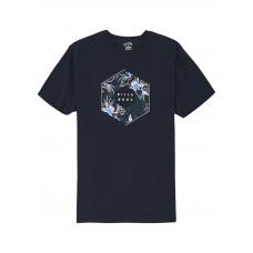 Billabong X-CESS NAVY pánské tričko s krátkým rukávem - M