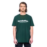 Horsefeathers QUARTER JUNGLE GREEN pánské tričko s krátkým rukávem - M