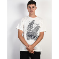 Element FIND WATER off white pánské tričko s krátkým rukávem - M