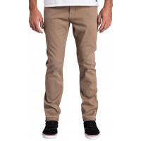 Billabong SLIM OUTSIDER COLOR KHAKI značkové pánské džíny - 30