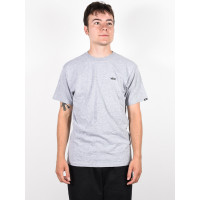Vans LEFT CHEST LOGO ATHLETIC HEATHER pánské tričko s krátkým rukávem - XL