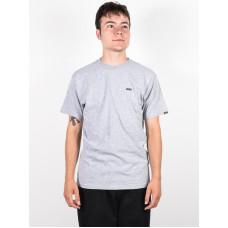 Vans LEFT CHEST LOGO ATHLETIC HEATHER pánské tričko s krátkým rukávem - L