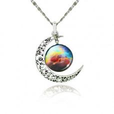 Náhrdelník Měsíční galaxie - 13 motivů Motiv: Labutí mlhovina