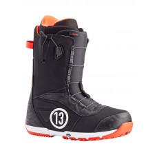 Burton RULER BLACK/RED pánské boty na snowboard - 43,5EUR