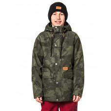 Horsefeathers LANC cloud camo dětská zimní bunda - XXL